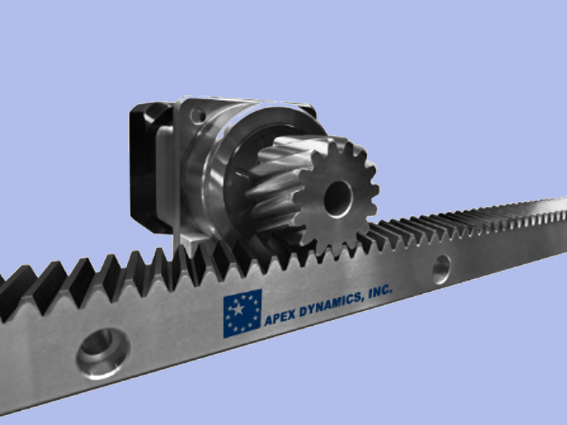 Apex Dynamics Precision Rack And Pinion Systems