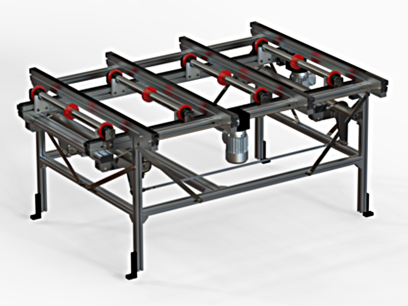 Glide-Line Multi-Strand Panel Handling System